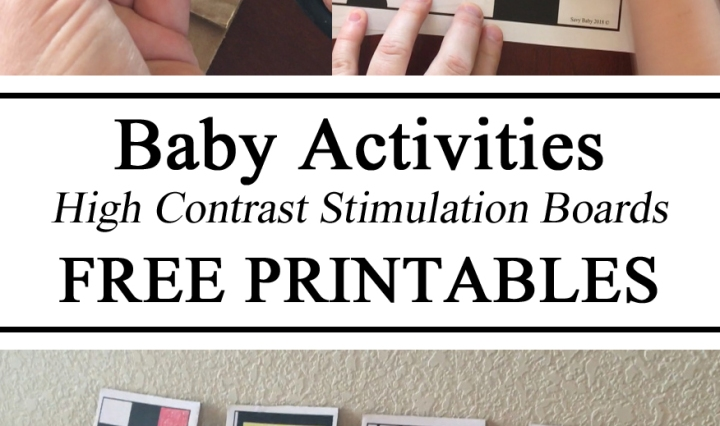 High Contrast Boards, Baby Toys, DIY, Free Printables, Printables, Free Download, Baby Activities, Infant Activities, Daycare Inspiration, Educational, DIY, Parent Resources