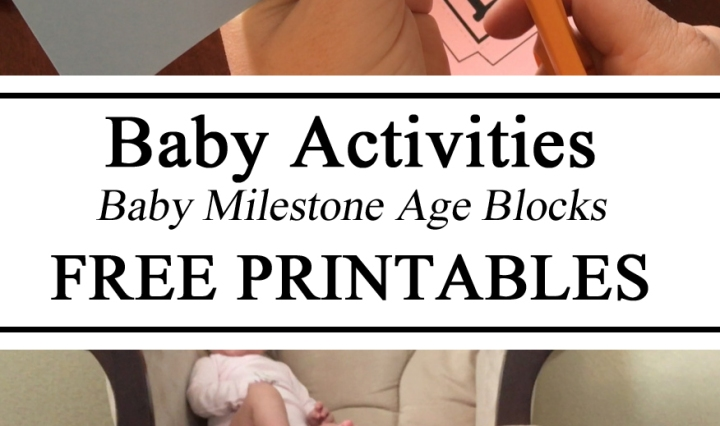Free Printables, Printable, Download, Milestone Age Boxes Blocks, DIY, Baby Infant, Nursery, Photography, DIY, Mothers