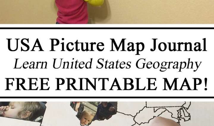 Map Journal, USA, United States, Free Printables, Printable, Map, Picture Photo, Toddler, Geography, Travel, #travelingthroughlearning, Toddlers, Preschool, Memories, Homeschool, Homeschooling