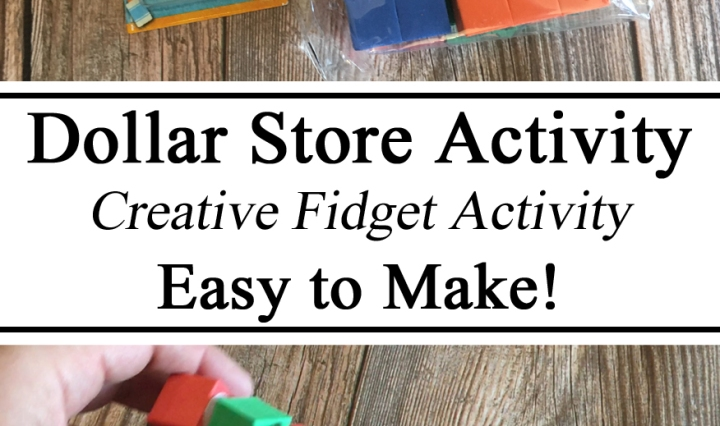 Foam Blocks, Fidget Toy, Dollar Store Activity, Creative Ideas, Hands on, Travel Activity, Toddler, Kindergarten, Preschool, Hacks, Dollar Tree, Easy to Make, DIY, Homeschool, Homeschooling, STEM Challenge Activity