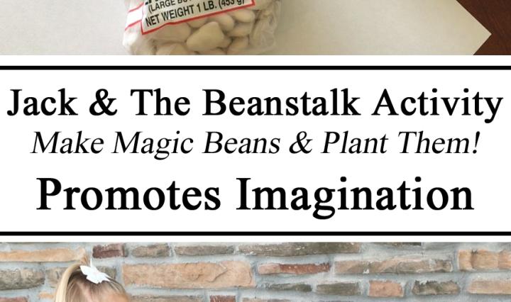 Jack & The BeanStalk, Fairy Tales, Magic Beans, Painted Beans, Grow, Imagination, Fun Literacy Activity, Toddler, Preschool, Kindergarten, Reading, Promote Books, Educational, Hands on Learning, Homeschool, Homeschooling