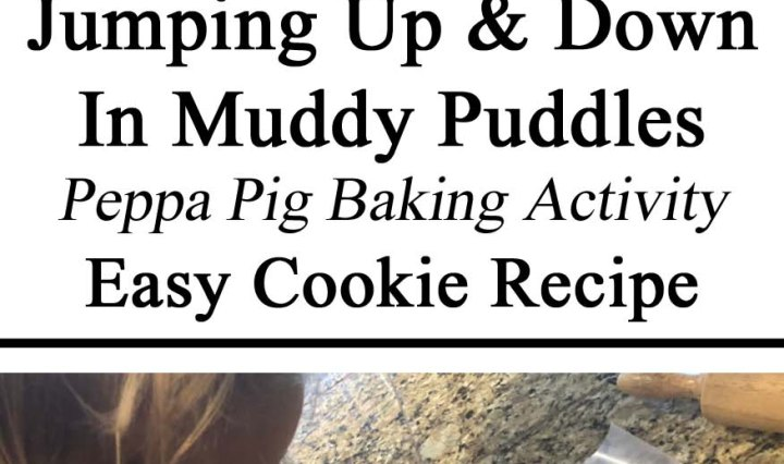Peppa Pig, Cookie Recipe, Activity, Hands on, Themed Activity, Practical Life Skills, Toddlers, Preschool, Tot School, DIY, Parent Resources, Inspiration