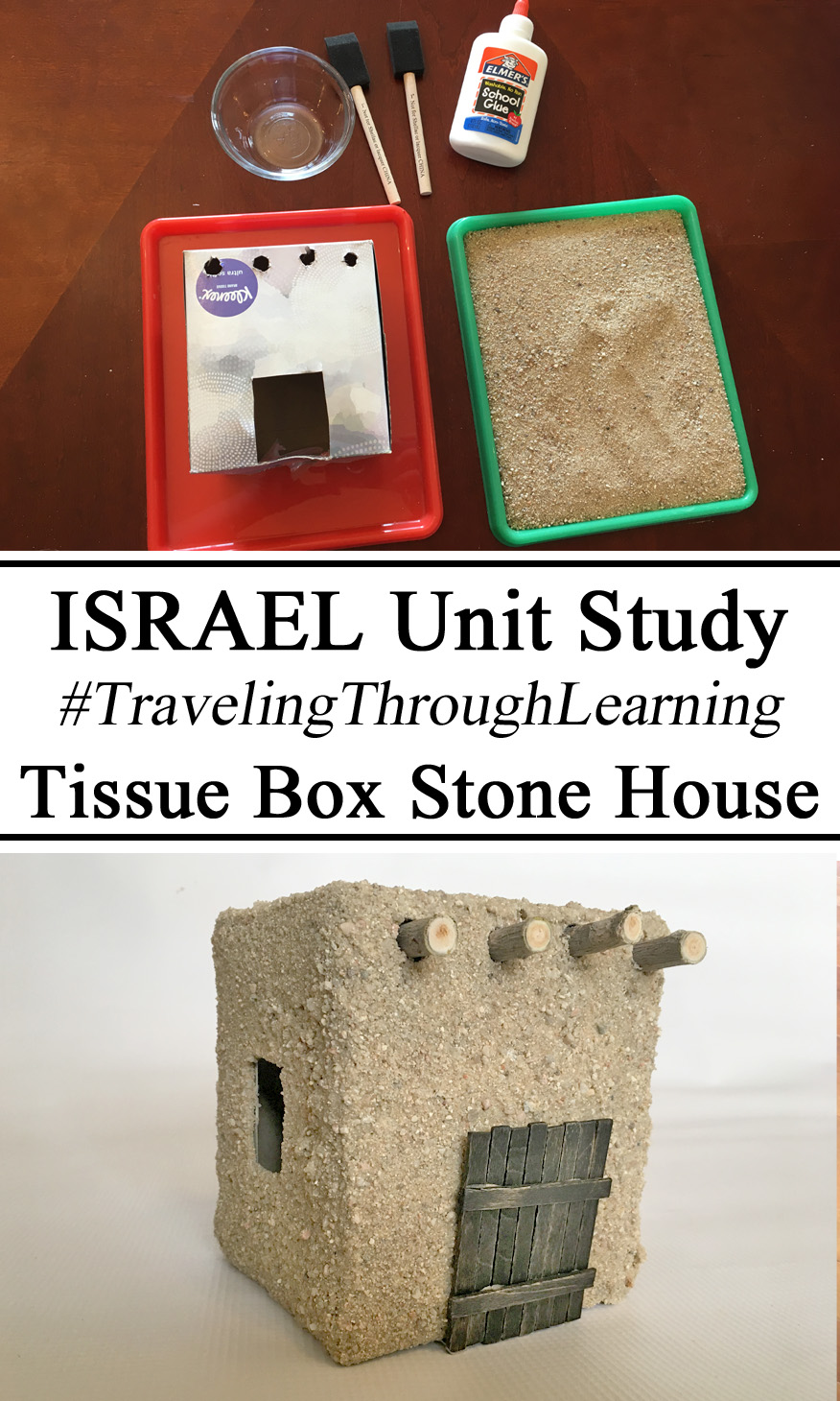 Upcycle, Tissue Box, Israel Unit, #travelingthroughlearning,