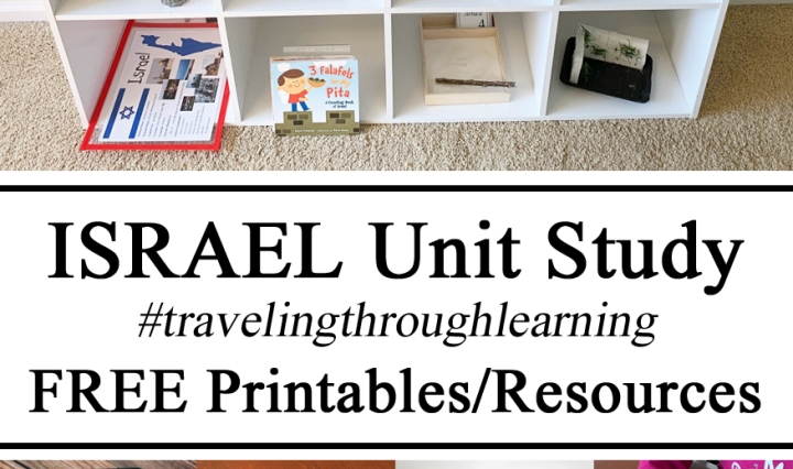 Montessori Shelfie Shelf Inspiration Israel Unit Study #travelingthroughlearning FREE Printables, Printable Downloads Download Resources Activities Plan Lesson Geography Culture Fashion Sensory Bin Play 3-Part Cards Art Hands on Learning, Fine Motor Gross Motor Skills, Currency Money, Landmarks STEM Challenge STEAM Challenge Educational Hebrew Learning to Count Cards Science Experiment Preschool Toddlers, Kindergarten, Book Recommendations, Placemats, Flags
