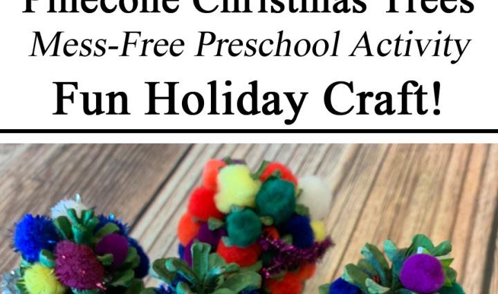 Pinecones, Christmas Crafts, Preschool Activities, Christmas Trees, Fine Motor Skills, Hands on Learning, Homeschooling