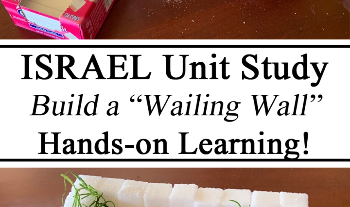 Israel Unit, Israel Learning, Geography, Homeschool, Homeschooling, #travelingthroughlearning, Art, Hands on Learning, Sugar Cubes, Landmarks, Preschool, Preschool ideas, Activities for Kids, Kindergarten, Kindergarten, Montessori