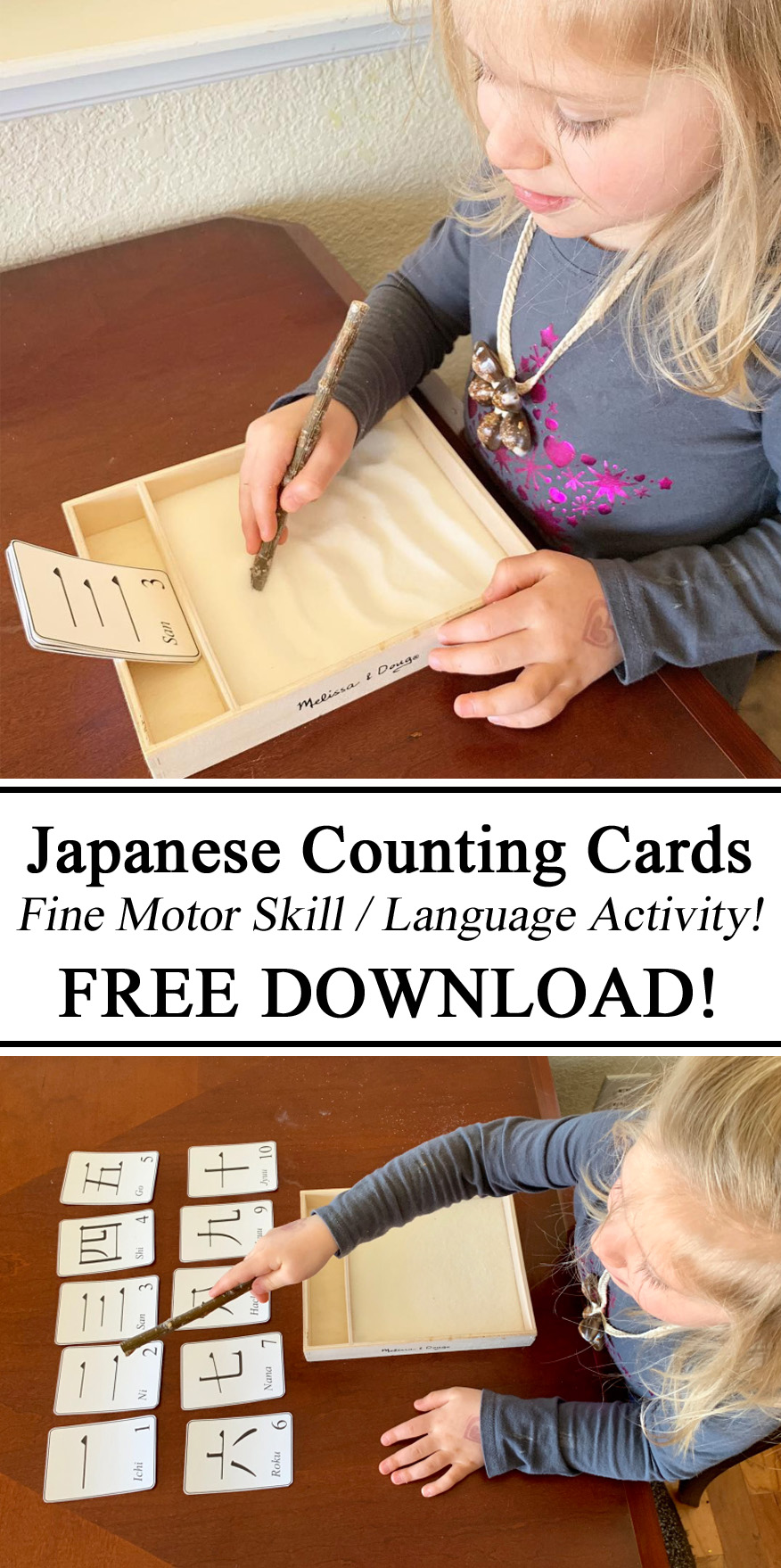 Learn Japanese, Japan Unit, Fine Motor Skills, Language, Early Childhood Education, Free Printable Download, Resources, Inspiration, Sand Tracing, Salt Tracing, Hands on Learning, Educational, Learn, Learning to, How to, DIY, Homeschool, Preschool, Kindergarten, Little Passports,