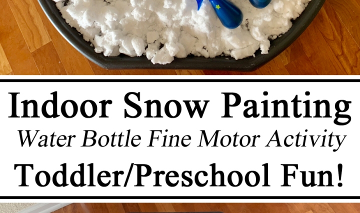 Hands on Learning, Homeschool, Homeschooling, Snow Painting, Water Bottle, Hand Strengthening Exercises, Preschool, Fine Motor Skills, Creativity, Snow Art, Sensory Play Activities Preschool, early childhood Education, Learn to Paint, Arts and Crafts, Montessori, TotSchool