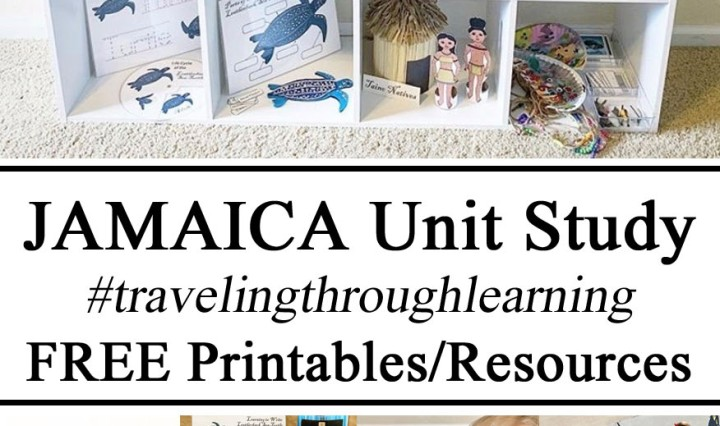 Jamaica Unit Study #travelingthroughlearning Free Printables Resources Hands on learning Montessori Inspired Paper Crafts Preschool Kindergarten Educational Learn Play Based PreK Kindergarten Early Years Box Truck Life Cycle Waldorf Geography Culture Play