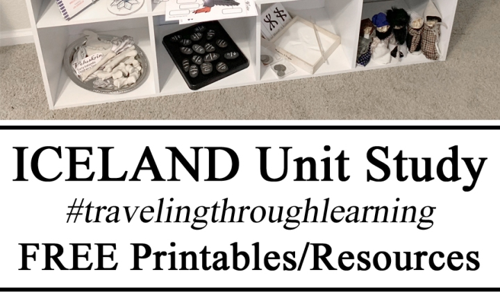 Iceland Unit Study Studies Icelandic Free Resources Printables #travelingthroughlearning STEM Nordic Ruines Sewing Learning DIY Sensory Place Activities Science Experiments Art Crafts Ideas Inspiration Resources Dolls Trolls Gross Fine Motor Skills