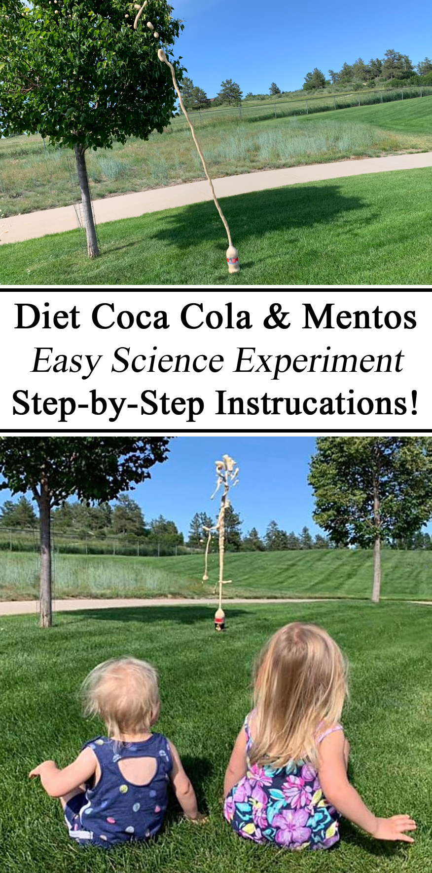 Iceland Unit Studies Study Country Coke Coca Cola Diet Mentos Mints Science Experiment for Kids Instructions Step by Step Homeschooling Ideas Inspiration Montessori STEM STEAM Learning Learn Geysers Eruptions Chemical Reactions Homeschooling Summer Activities Hands on Learning How things Work Unschooling