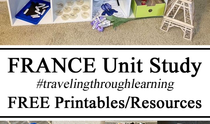 Hands on Learning, France Unit #travelingthroughlearning, STEM Challenges Challenge, Ideas Inspiration Montessori Inspired Shelves, Geography, Science Experiments Three-Part Cards, Braille, Popcicle Sticks, Germs, Lily, Pom Pom, Petri Disease, World, Globe, Preschool, Educational Ideas