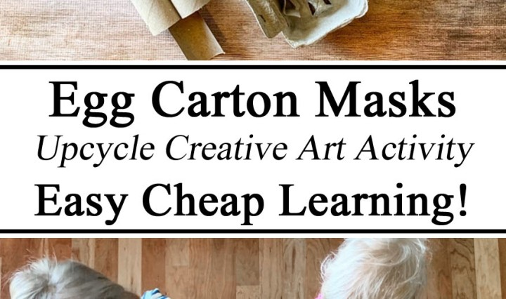 Homeschooling, Homeschool, Egg Cartons, Get Creative With, Upcycle Upcycling, Voodoo Maya Mayan STEM STEAM Learning, Hands on Preschool PreK Kindergarten Learn Creative Art for Kids Unschooling, Montessori Paper Crafts Cheap Easy