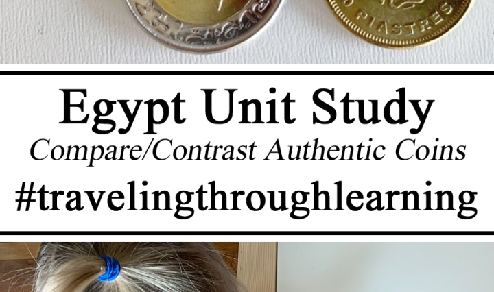 Homeschool, Homeschooling, Coins Currency Money Around the World Egyptian Egypt Pound piastres little passports culture through around the world global citizens ideas Inspiration Unschooling, Preschool, Teachers Ideas Kindergarten PreK